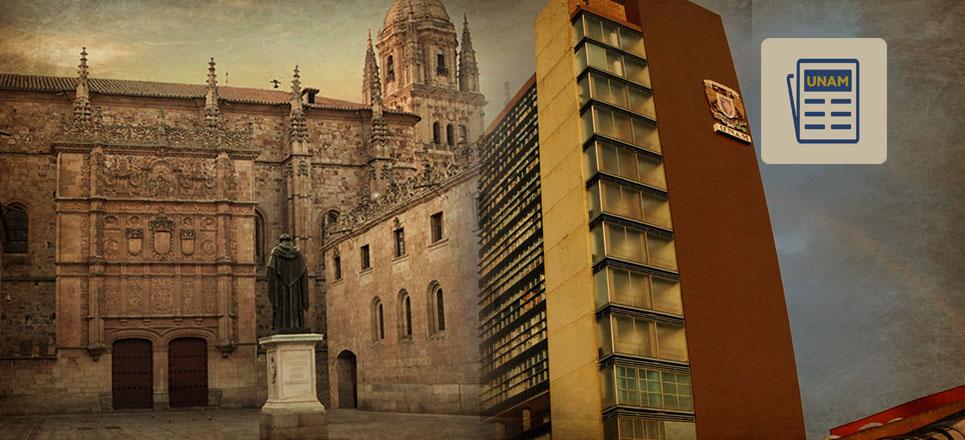 UNAM y la Universidad de Salamanca establecen programas conjuntos