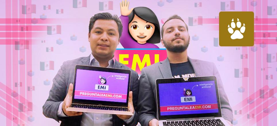 EMI, inteligencia artificial creada por la UNAM