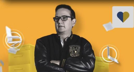 Gerardo García Luna, nuevo director de la Facultad de Artes y Diseño de la UNAM