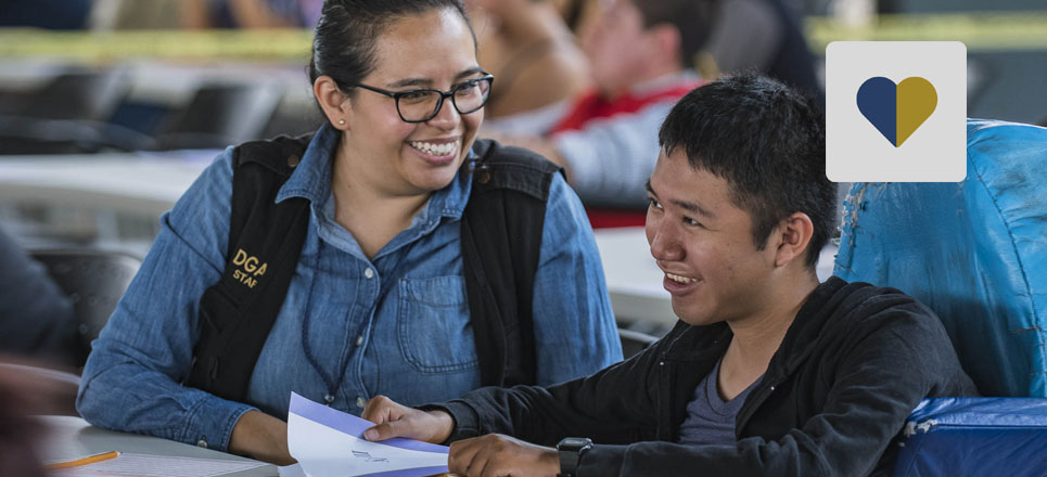 Realizan personas con discapacidad examen de admisión a la UNAM