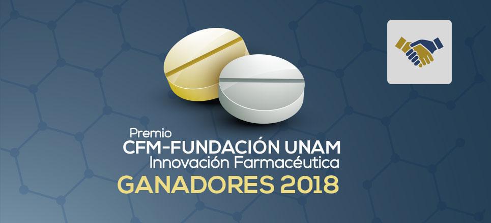 Galardonan a universitarios con el Premio para la Innovación Farmacéutica 2018