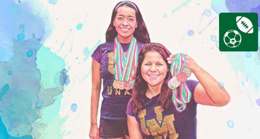 Con la natación, universitarias cruzan fronteras