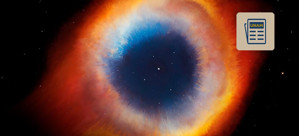 Astrónomos de la UNAM visualizan renacimiento de nebulosa