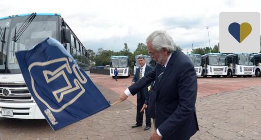 UNAM da banderazo a nuevas unidades de Pumabús