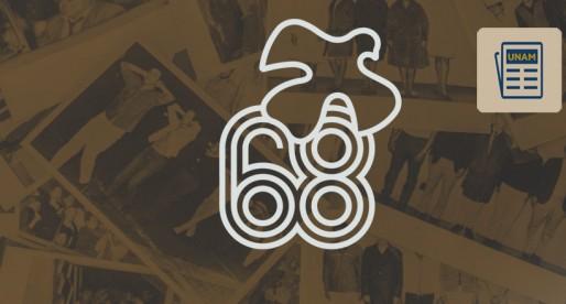 Liberan archivos confidenciales del Movimiento 1968