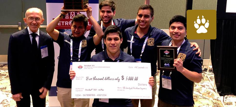 Universitarios ganan por tercer año concurso PetroBowl
