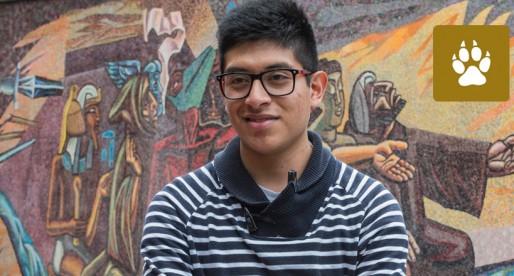 Universitario gana concurso internacional de paisajismo