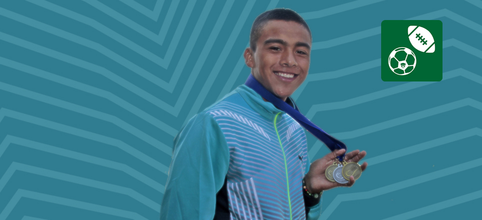 Atleta PUMA, doble campeón Panamericano