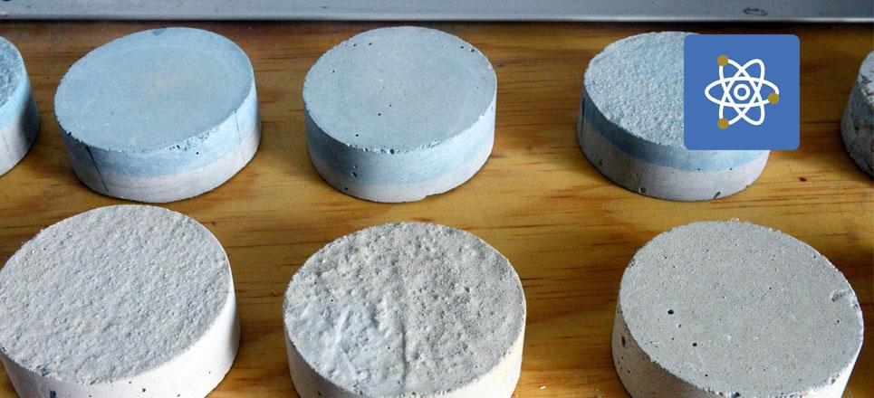 Universitarios crean cemento fotocatalítico