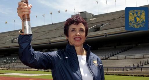 Enriqueta Basilio, la primera mujer en encender el pebetero Olímpico