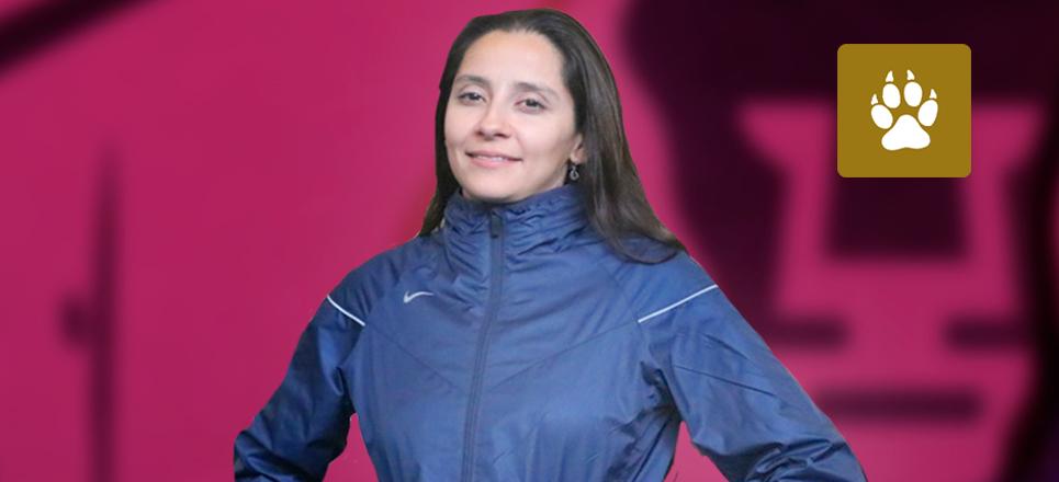 Lorena Galán, juez puma en el Mundial de Gimnasia Artística