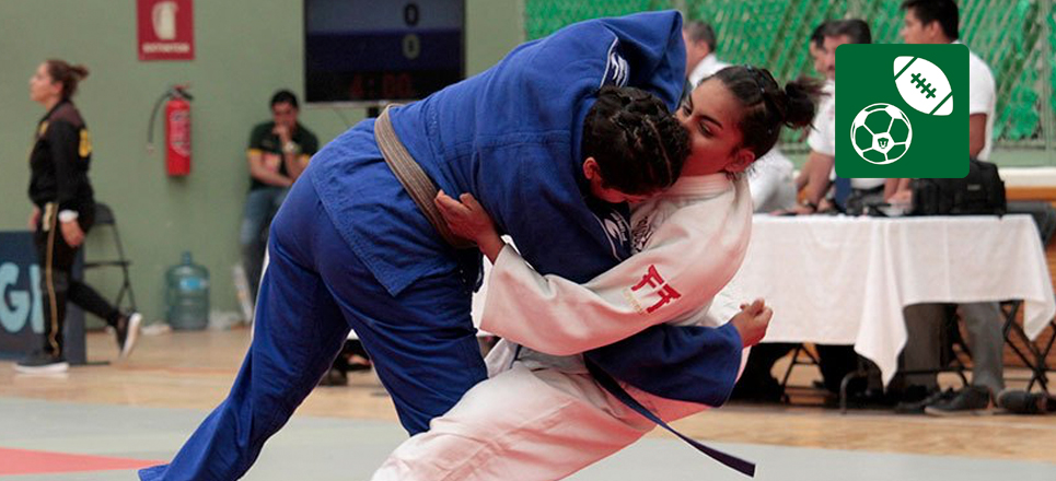 Universitarios obtienen ocho medallas en Nacional de Judo