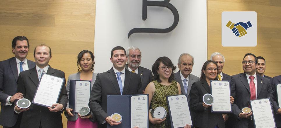 Fundación UNAM entregó el Premio BAL – UNAM Ciencias de la Tierra 2017