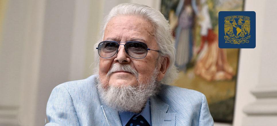 Del Paso, un grande de la literatura, que portaba con orgullo sus trajes coloridos