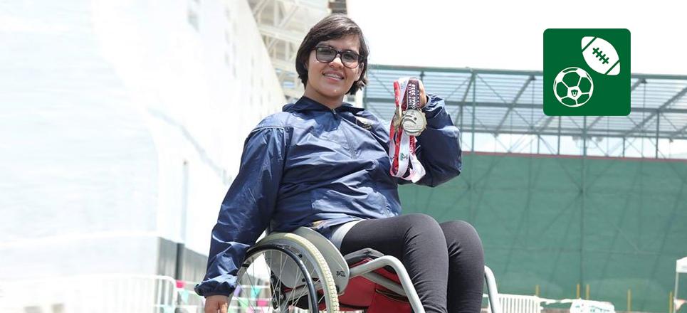 Atleta del CCH Oriente ganó el Premio Universitario del Deporte 2018