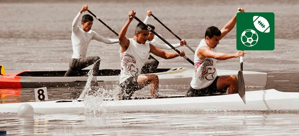 UNAM gana seis medallas de oro en Regata Nacional de Canotaje