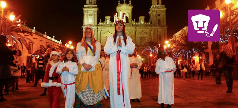 No te pierdas la plática sobre La Historia de Santa Lucía en Suecia