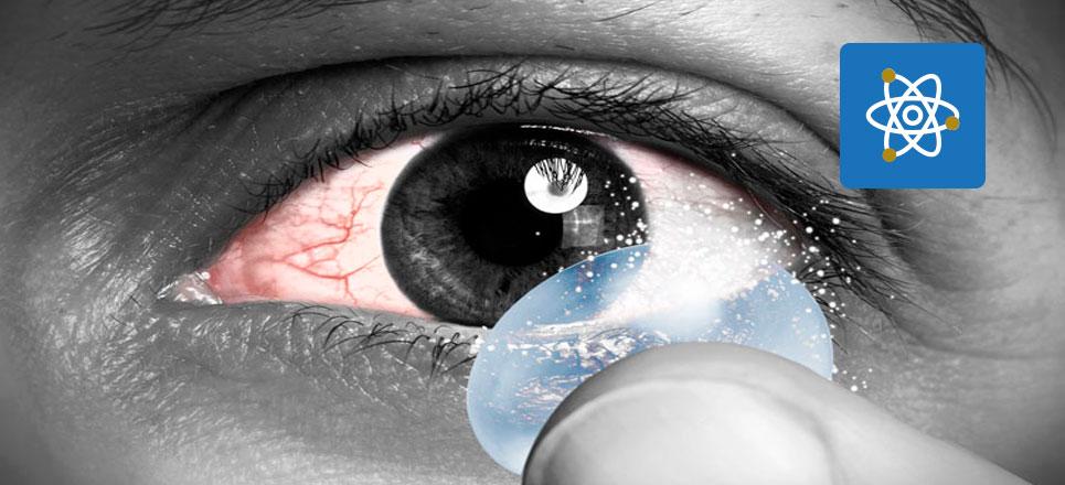Universitarios crean lentes de contacto biodegradables