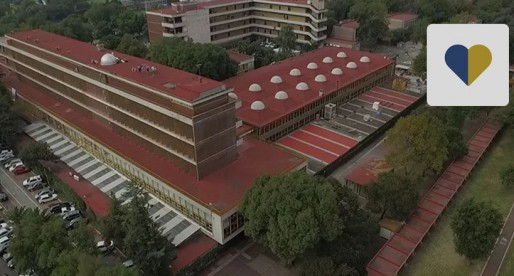 Reciben Facultad de Ingeniería y el Palacio de Minería distintivo ambiental