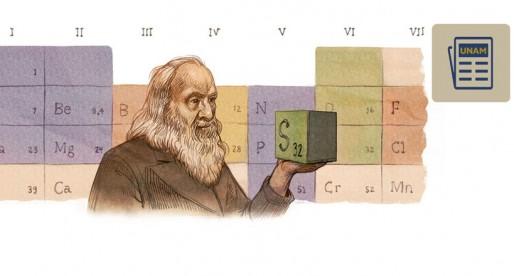 Facultad de Química festeja 150 años de la publicación de la tabla periódica