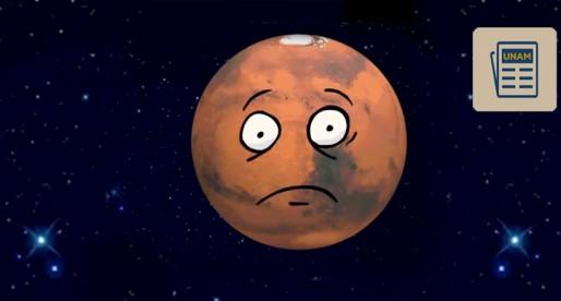 Posible vivir en el futuro en Marte: investigador de la UNAM