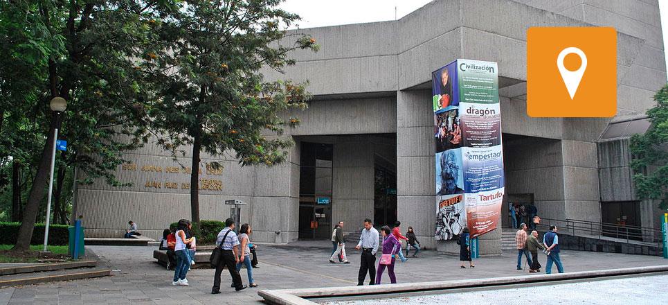 Celebra la UNAM 40 años del Foro Sor Juana Inés y del Teatro Juan Ruiz de Alarcón