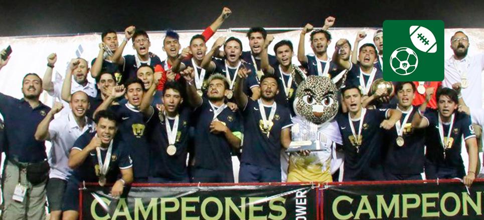 La UNAM sube al pódium de la Universiada Nacional 2019