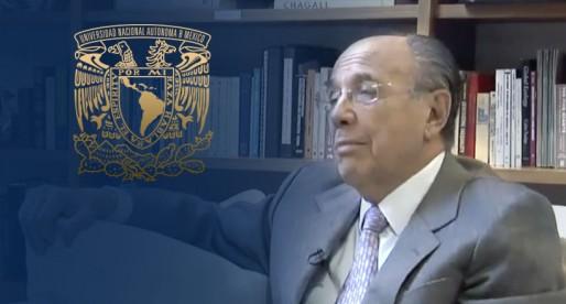 Ofrece UNAM homenaje a David Ibarra Muñoz
