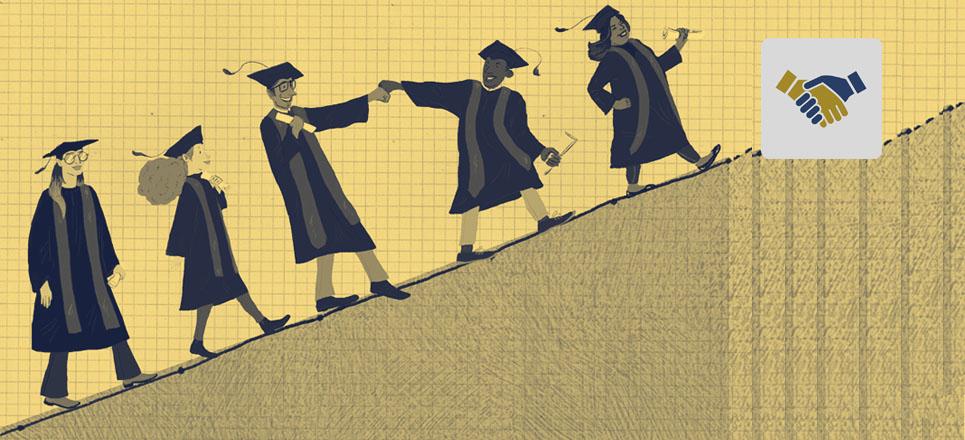 Con tu aportación ayudas a más universitarios a concluir sus estudios