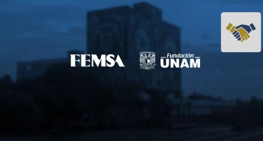 Femsa y Fundación UNAM encabezan entrega de donativo para programa de becas