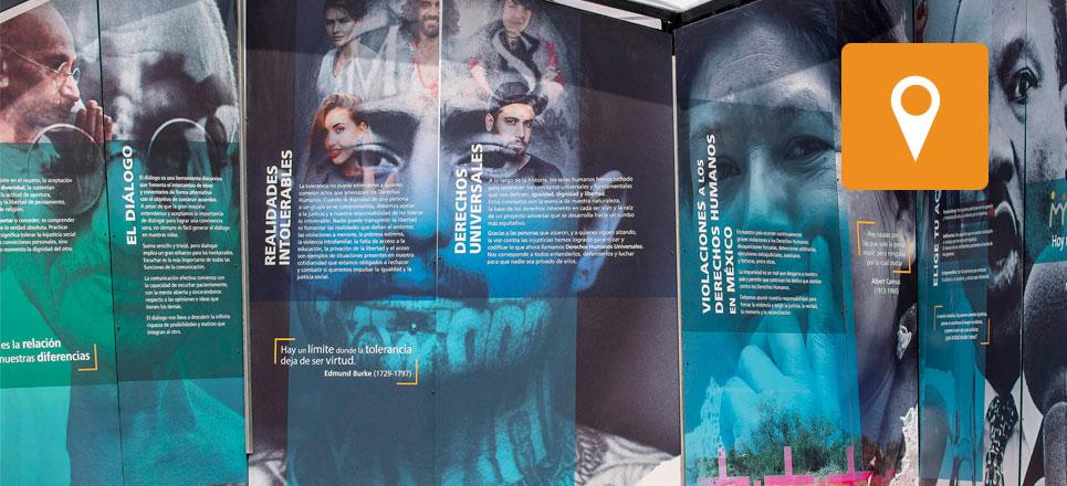 UNAM abre el Túnel Memoria y Tolerancia 3.0