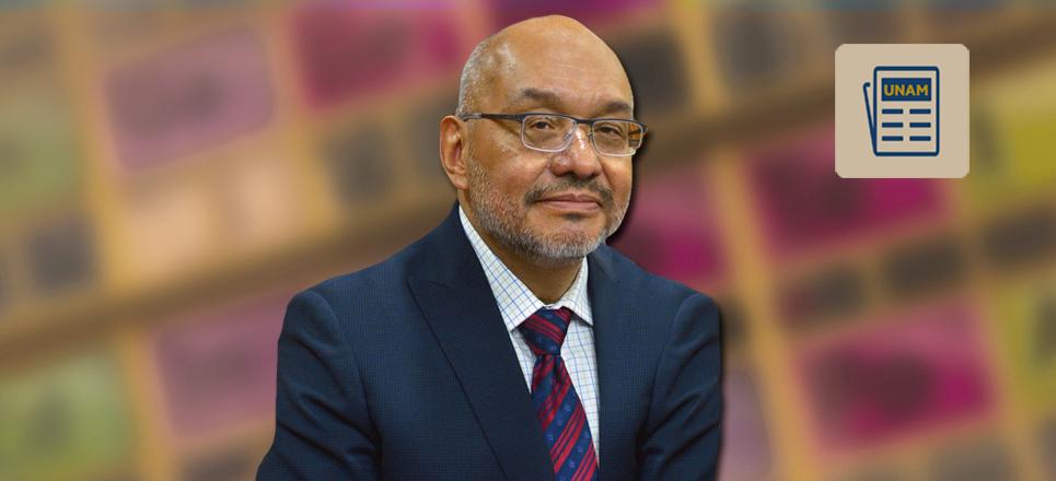Carlos Amador Bedolla, nuevo director de la Facultad de Química
