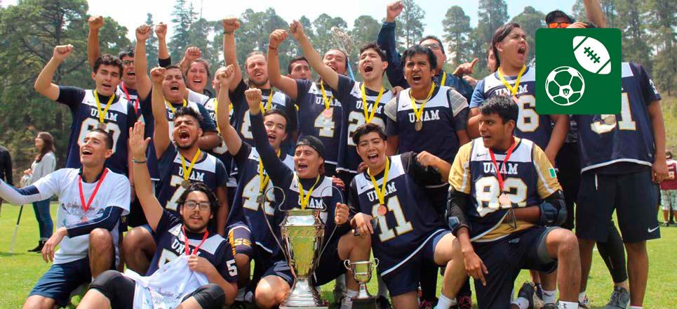 UNAM mantiene hegemonía en Lacrosse