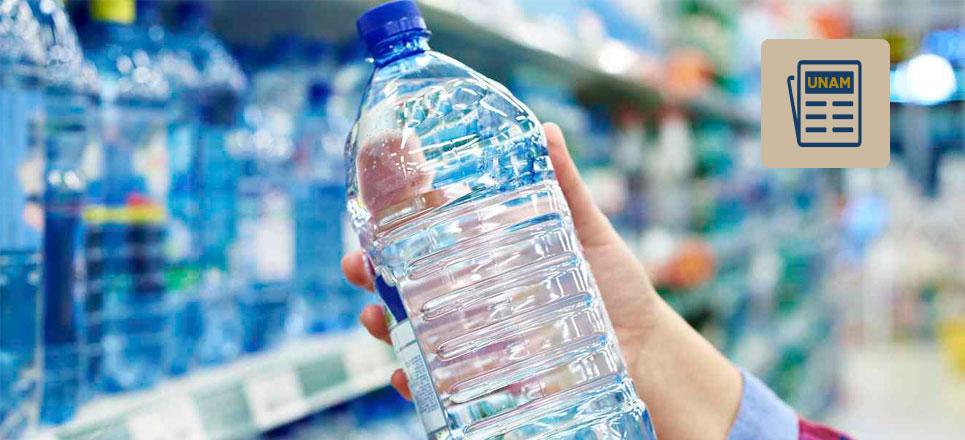 ¿Cuántas botellas de agua compras?
