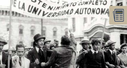 ¿Sabes cómo se dio el primer proyecto académico de autonomía de la UNAM?