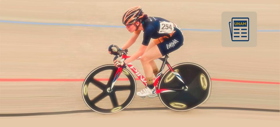 Universitaria se llevó los honores en la Olimpiada Nacional de Ciclismo