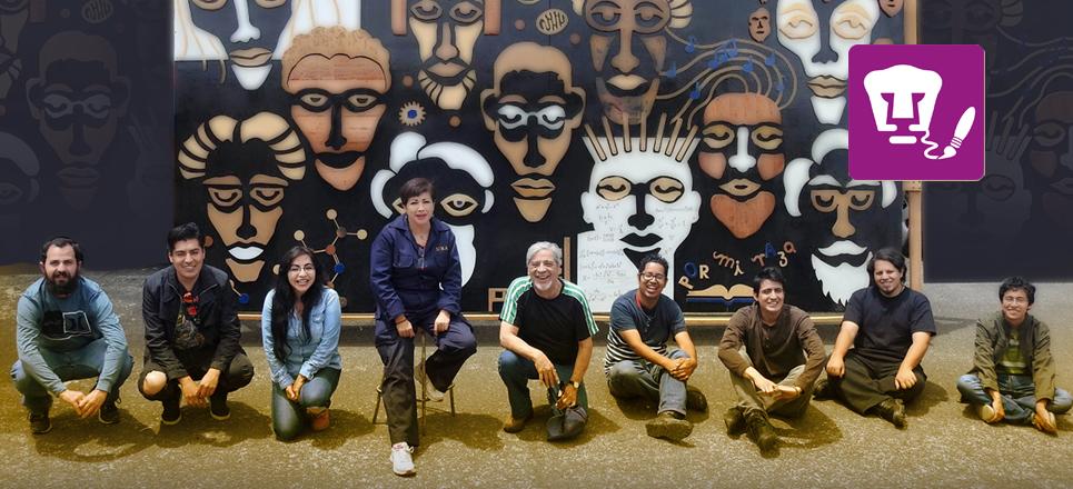 Universitarios crean piezas de arte con desechos metálicos