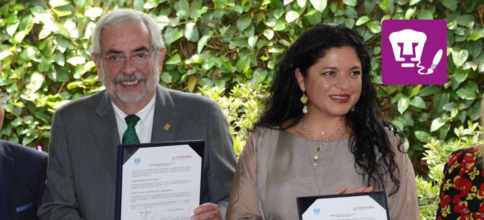 UNAM y Secretaría de Cultura firman convenio en favor de la docencia