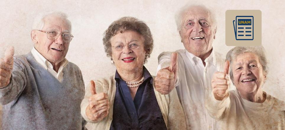 Abuelos, experimentan un proceso de vejez más jovial