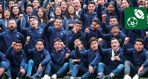 UNAM reconoció a sus deportistas