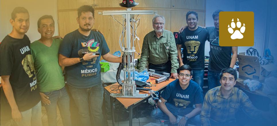 Robot de la UNAM obtiene plata en la RoboCup 2019