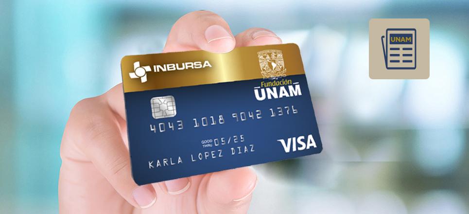 Conoce la tarjeta de crédito Inbursa Fundación UNAM