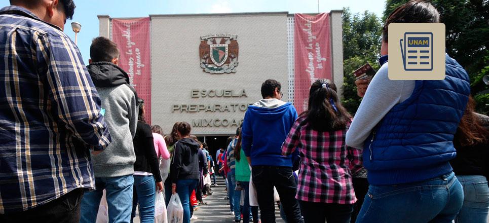 Emprende Bachillerato de la UNAM campaña contra la violencia