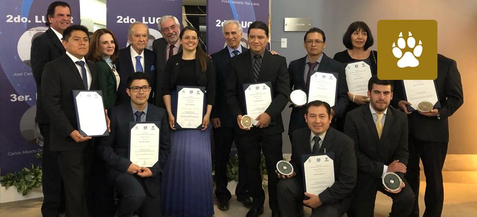 Se realiza la entrega del Premio BAL-UNAM Ciencias de la Tierra 2018-2019