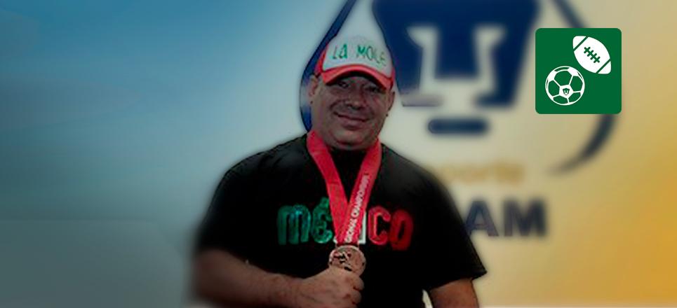 Universitario consigue medalla de bronce