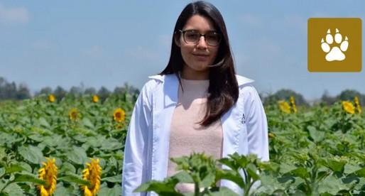 Ana Karen Granados Mayorga obtuvo el premio al talento joven
