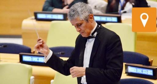 Universitarios tocan en la ONU con la OJUEM