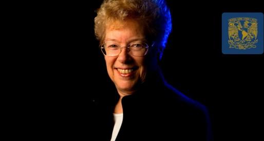 Astrónoma Sandra Faber ofrece charla en la UNAM
