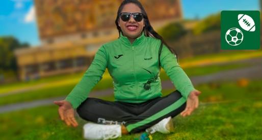 Paratleta universitaria gana Premio Estatal del Deporte 2019