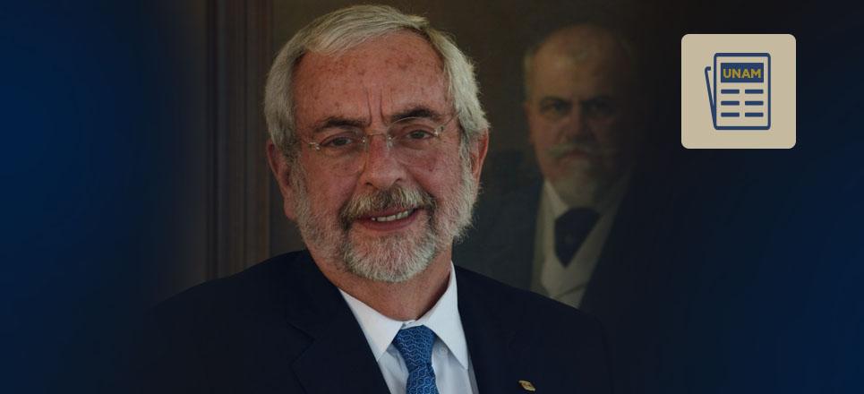 Graue recibe doctor honoris causa por la Universidad Ricardo Palma, de Perú